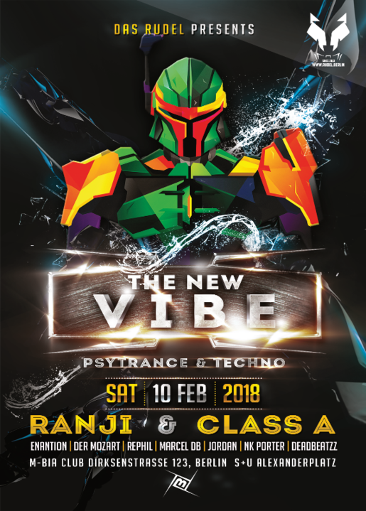 The New VIBE w. Ranji & Class A LIVE 10 Feb '18, 22:00