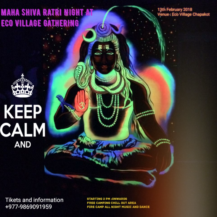 Maha Shiva Ratri Night at Eco Village 13 Feb '18, 01:00