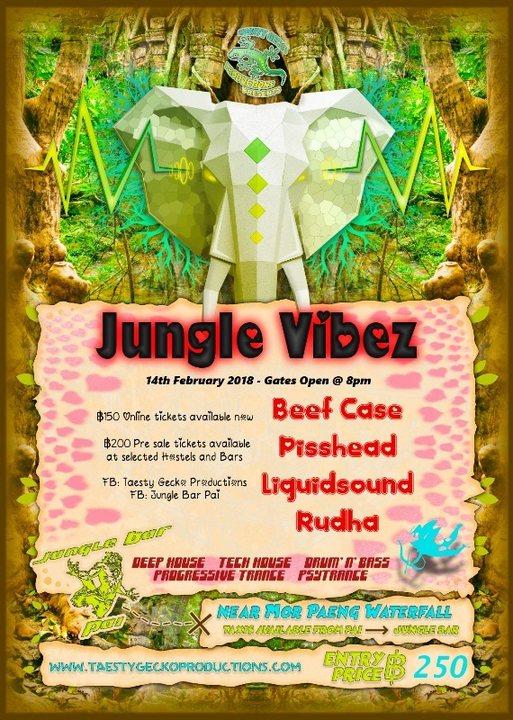 Jungle Vibez 14 Feb '18, 19:00