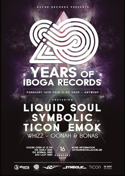 20 Years of Iboga Records 16 Feb '18, 22:00