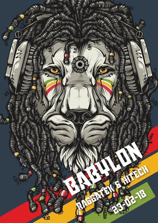 Babylon: Raggatek in Zürich w/ Vandal LSDirty and Darktek 23 Feb '18, 22:00