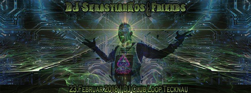 Dj SebastianKos & Friends 23.2. 23 Feb '18, 22:00