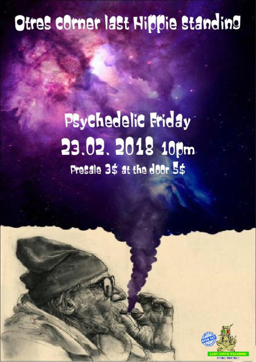 Psychedelic Friday 23 Feb '18, 22:00