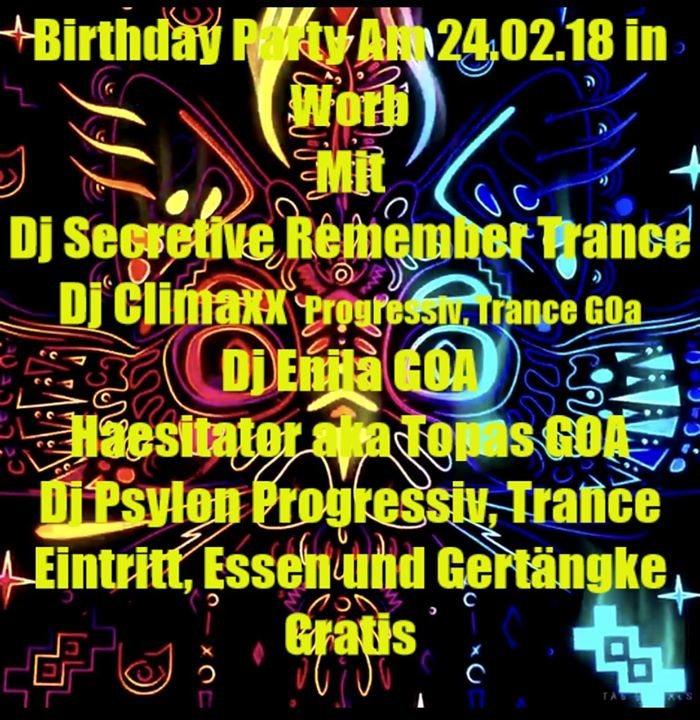 Brithday Party 30i Spycher 24 Feb '18, 23:00