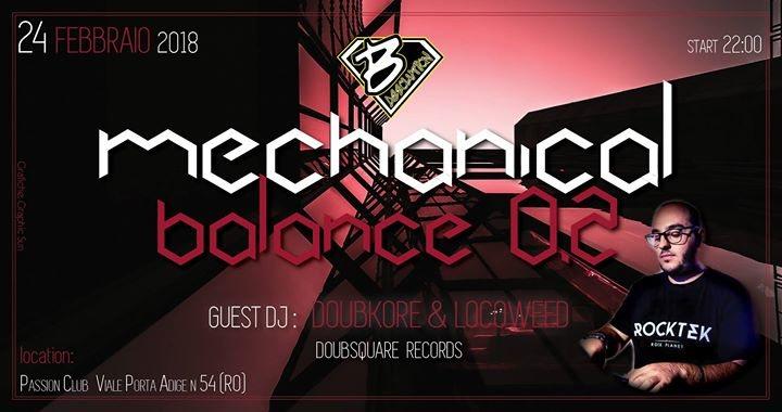 ◕ Mechanical Balance 0.2 ◕ 24 Feb '18, 22:00