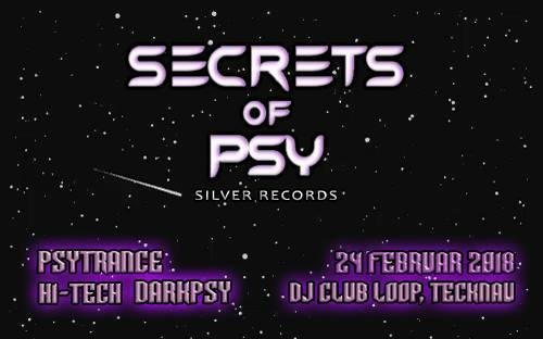 Secrets Of Psy 24 Feb '18, 21:00