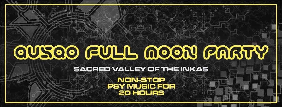Party flyer: QUSQO FULL MOON PARTY 2 Mar '18, 17:00