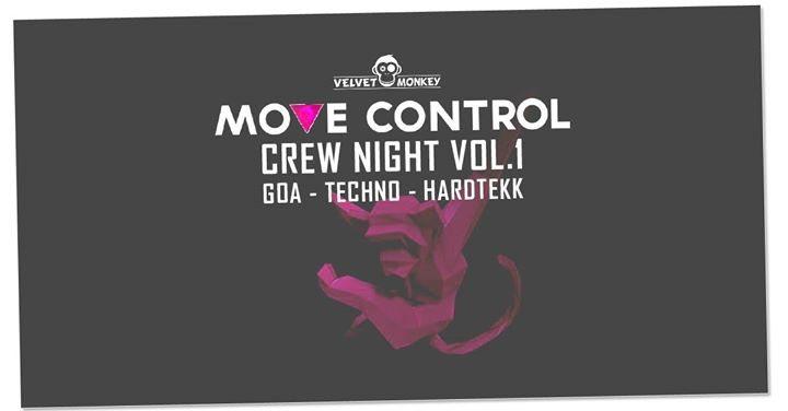 Move Control Crew Night GOA Techno Hardtekk & Tr0nic B-Day Bash 3 Mar '18, 23:00