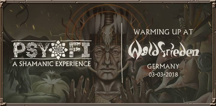 Psy-Fi Warming Up At Waldfrieden Germany 3 Mar '18, 21:30
