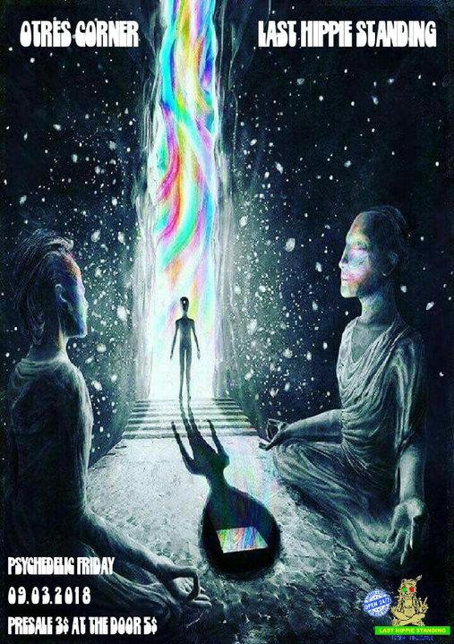 Psychedelic Friday 9 Mar '18, 18:00