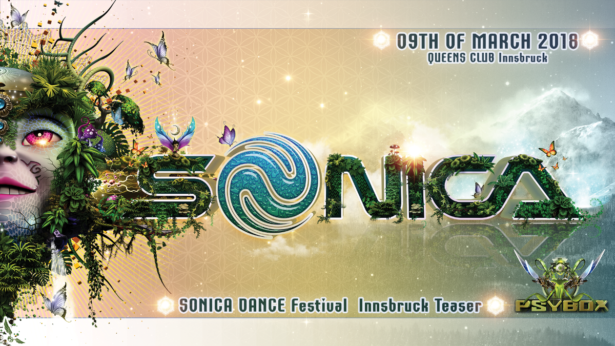 Sonica Festival Austria Teaser with Sonic Species / Ilai / Acid Mind *live 9 Mar '18, 22:00