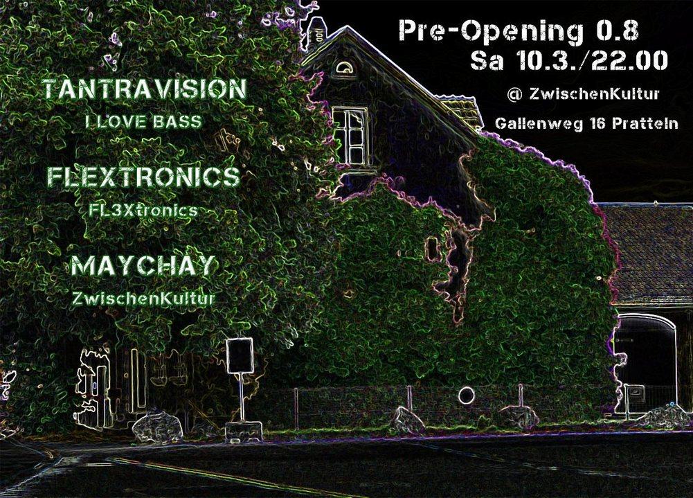 Pre-Opening 0.8 10 Mar '18, 22:00