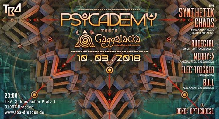 Psycademy meets Gaggalacka 10 Mar '18, 23:00