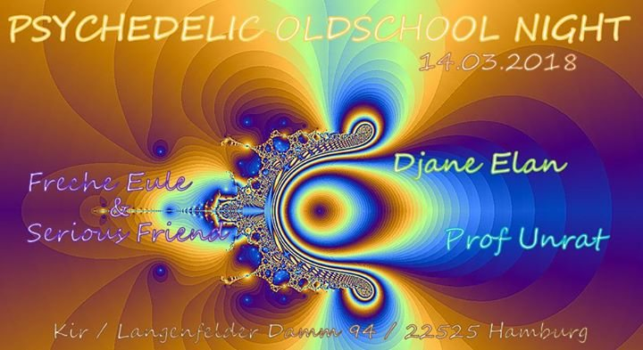 Psychedelic Oldschool Night 14 Mar '18, 20:00