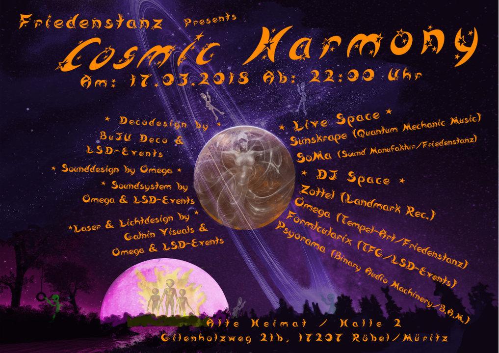Cosmic Harmony 17 Mar '18, 22:00