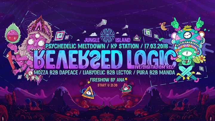 Psychedelic Meltdown / Reversed Logic live @K9 Station 17 Mar '18, 21:30