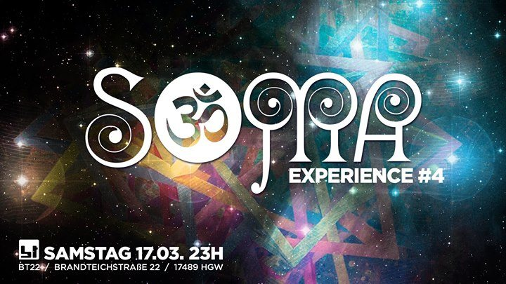 Soma- Dark-Experience 17 Mar '18, 23:00