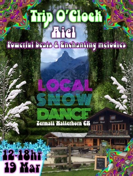 Local Snow Dance 19 Mar '18, 12:00