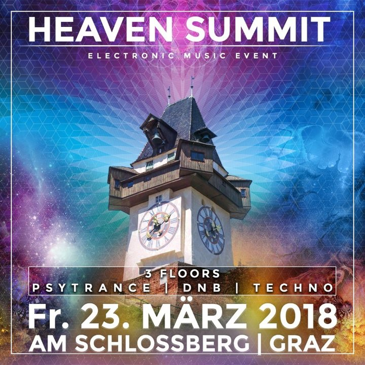 Heaven Summit-Das große In & Outdoor Frühlingsrave am Schloßberg 23 Mar '18, 16:00