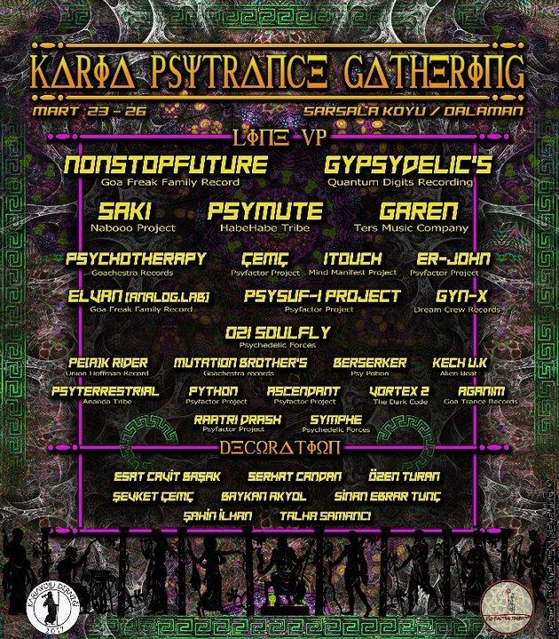KampKaria Psytrance Music - Sarsala Koyu Buluşması 23 Mar '18, 12:00