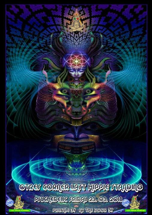 Psychedelic Friday 23 Mar '18, 18:00