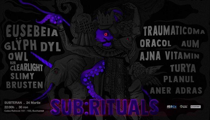 ✧ Sub:rituals ✧ 24 Mar '18, 22:00