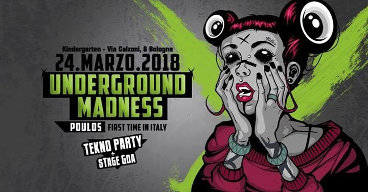 Underground Madness - PoulOs UnclOned live (FR) + After 24 Mar '18, 23:00