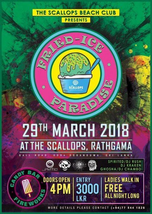 Fried - Ice Paradise 29 Mar '18, 19:00