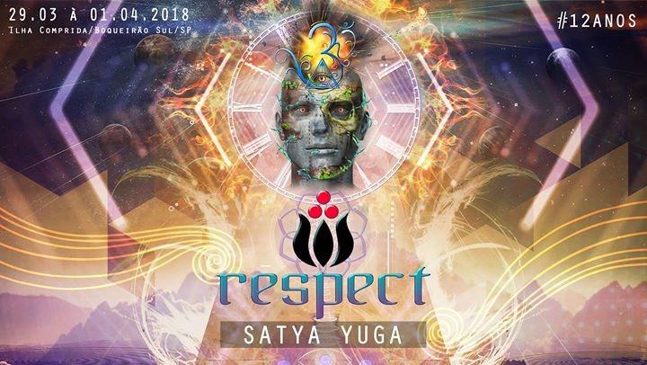Party flyer: ReSPect Festival 2018 - Ilha Comprida (Feriado de Páscoa) 29 Mar '18, 08:00
