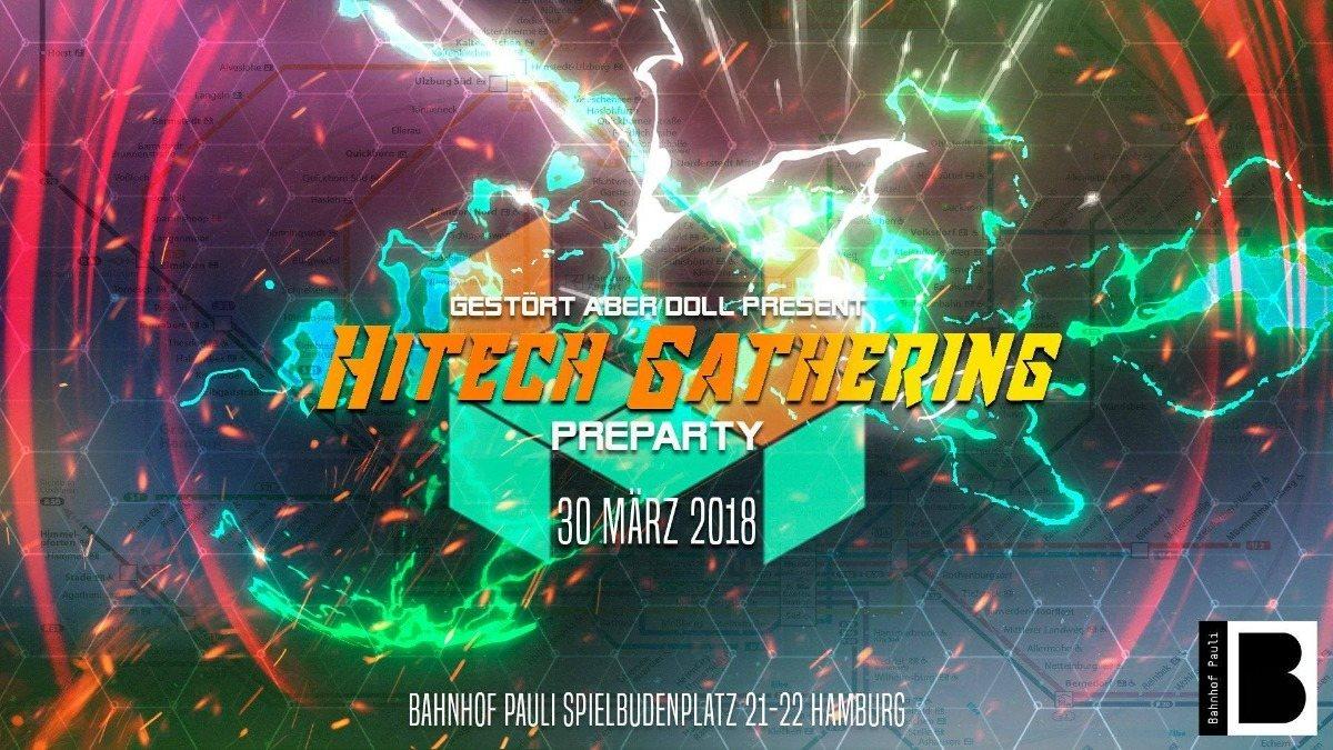 ॐ Hitech Gathering Pre Party • Jesus Raves ॐ 30 Mar '18, 23:00
