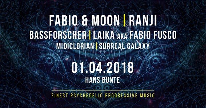 Electronic Sensation Goa Floor: Fabio & Moon,Ranji,Bassforscher 1 Apr '18, 22:00