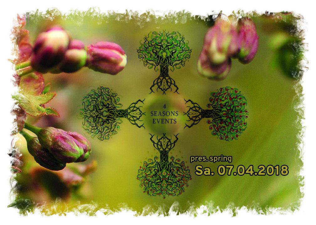 4SEASONS EVENTS pres. SPRING 7 Apr '18, 22:00