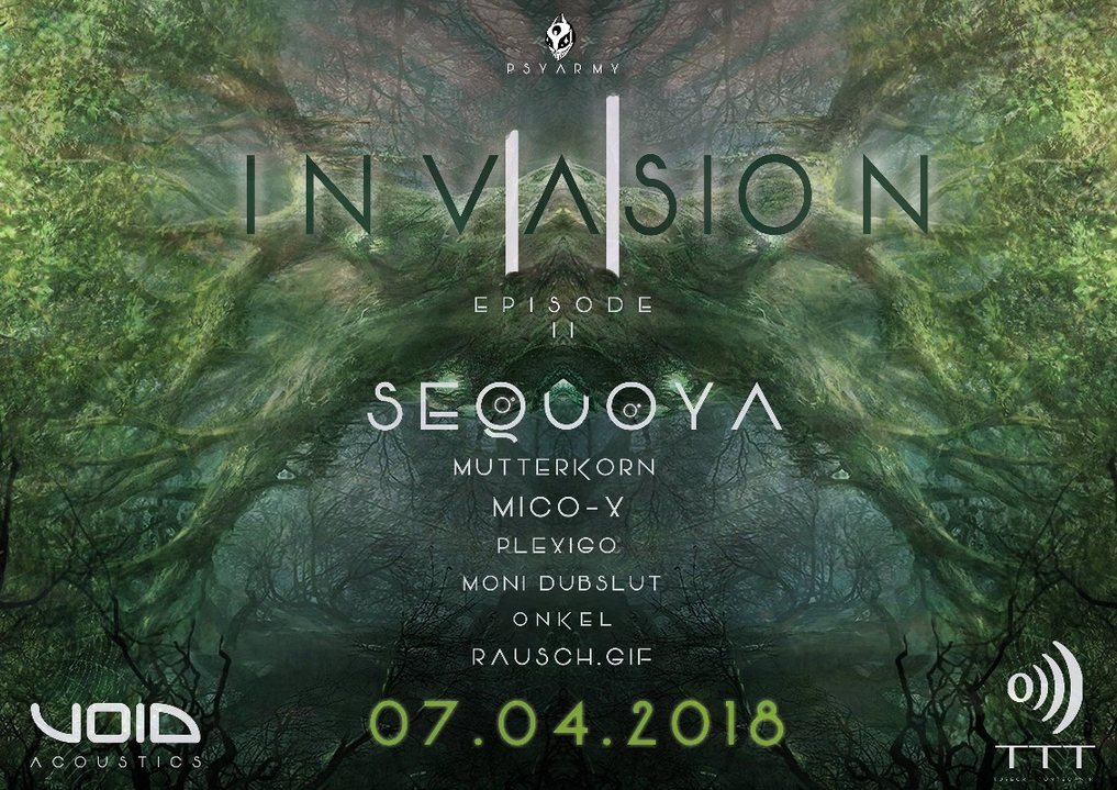INVASION II 7 Apr '18, 22:00