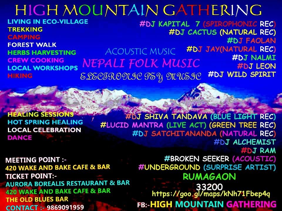 High Mountain Gathering 12 Apr '18, 08:00