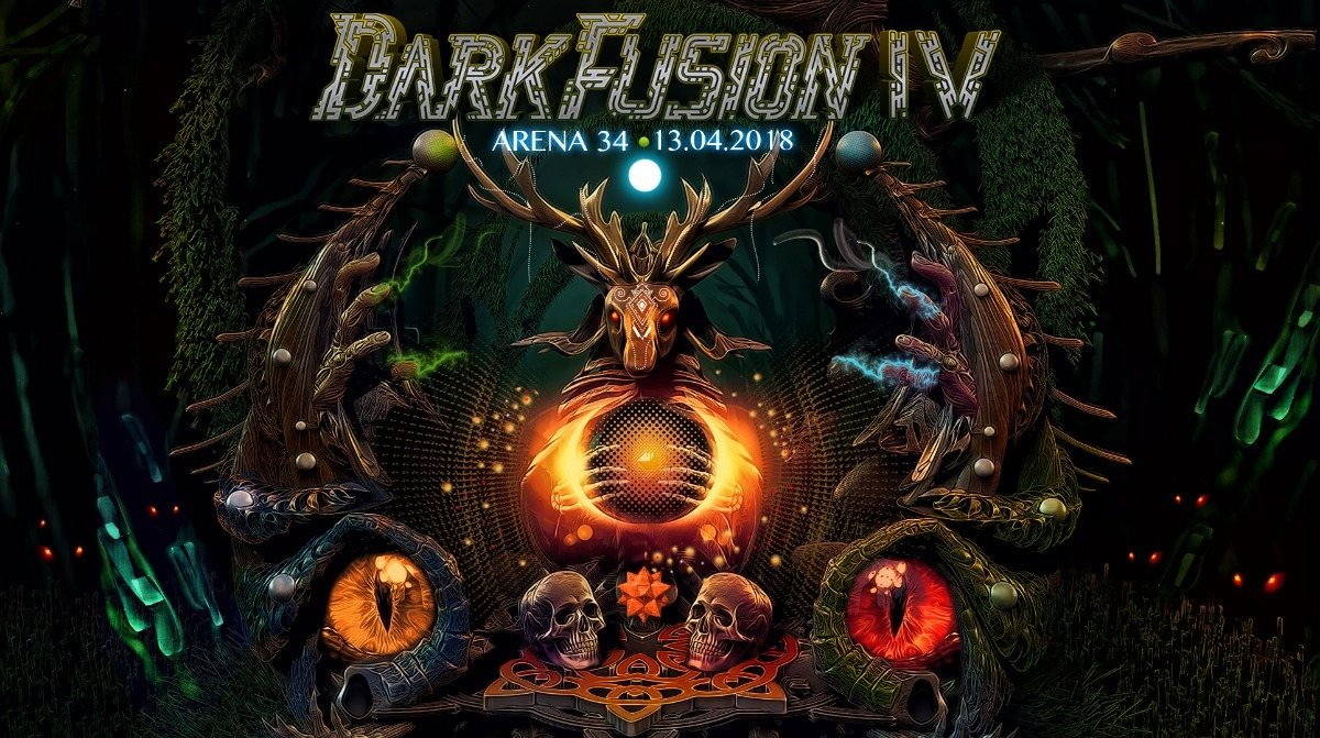 DARK FUSION 4 mit Psykovsky & Necropsycho! 13 Apr '18, 22:00