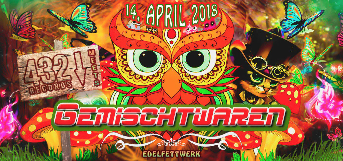 ★★★ GEMISCHTWAREN - 432 RECORDS SPECIAL ★★★ 14 Apr '18, 22:00