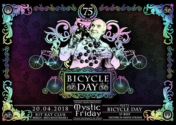 Mystic Friday meets Bicycle Day 20 Apr '18, 23:00