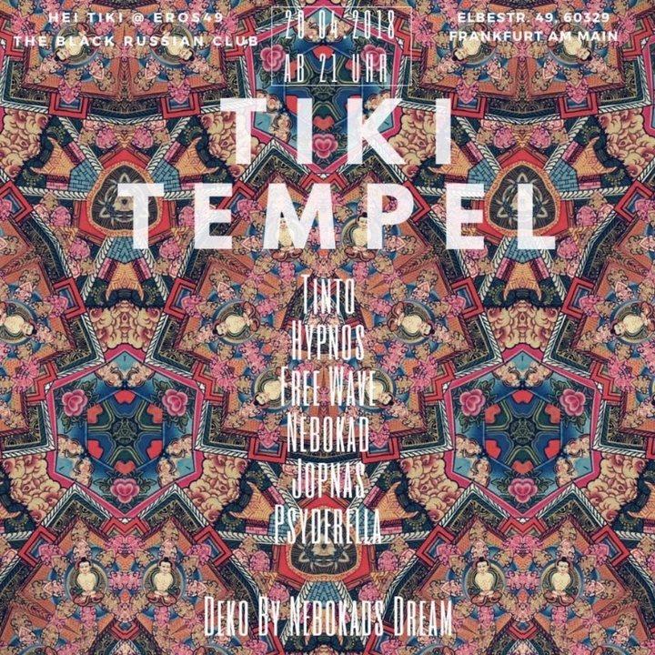 Tiki Tempel 20 Apr '18, 21:00