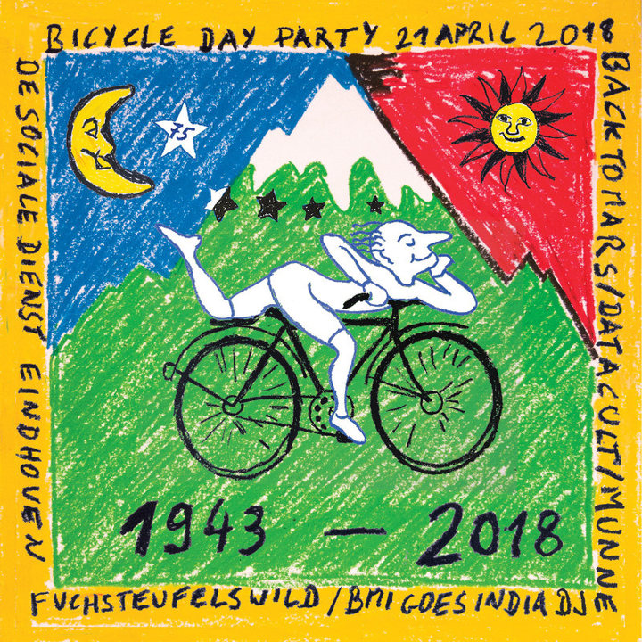 Bicycle Day Party 21 Apr '18, 22:00
