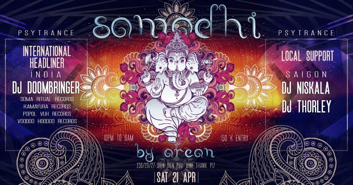 samadhi - dj doombringer - soma ritual records (india) 21 Apr '18, 22:00