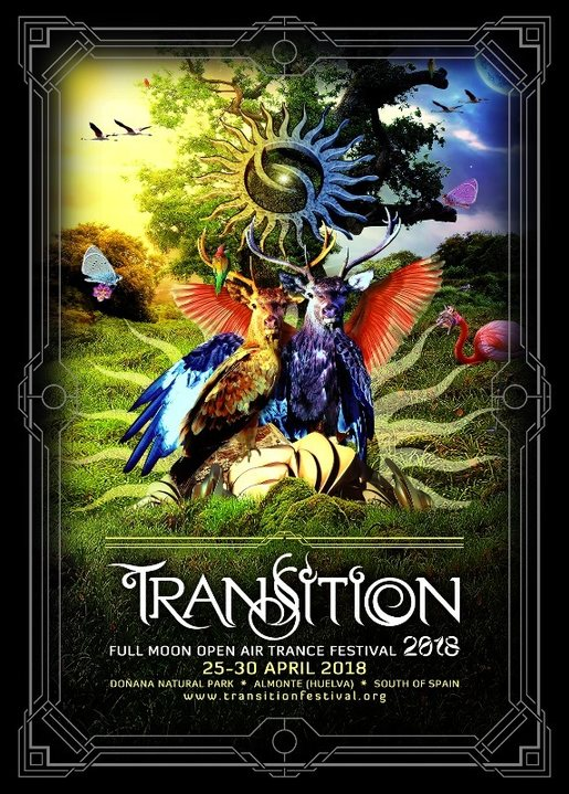 TRANSITION 2018 ::: Full Moon Open Air Trance Festival 25 Apr '18, 22:30