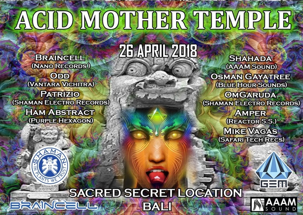 Acid Mother Temple 26 Apr '18, 15:00