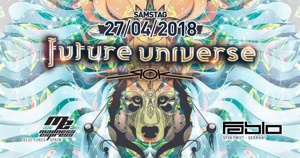 Future Universe w/ Fabio Fusco, Madness Express 27 Apr '18, 22:00