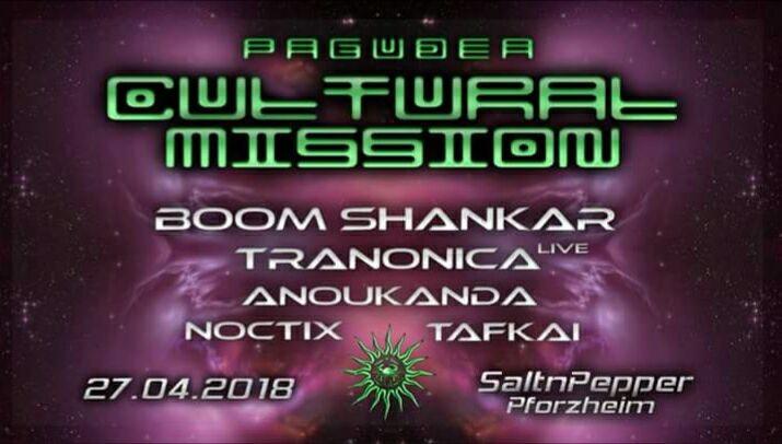 Oº°'¨ Cultural Mission ¨'°ºO (Goa) w/ Boom Shankar 27 Apr '18, 22:00