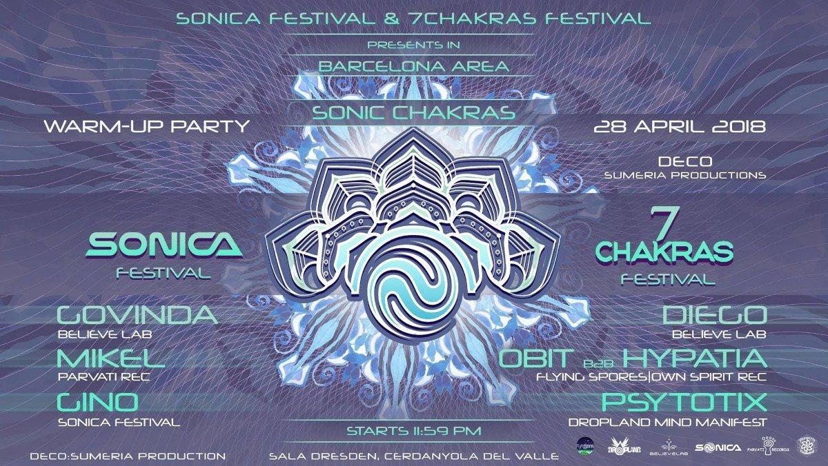 Sonic Chakras 28 Apr '18, 23:30