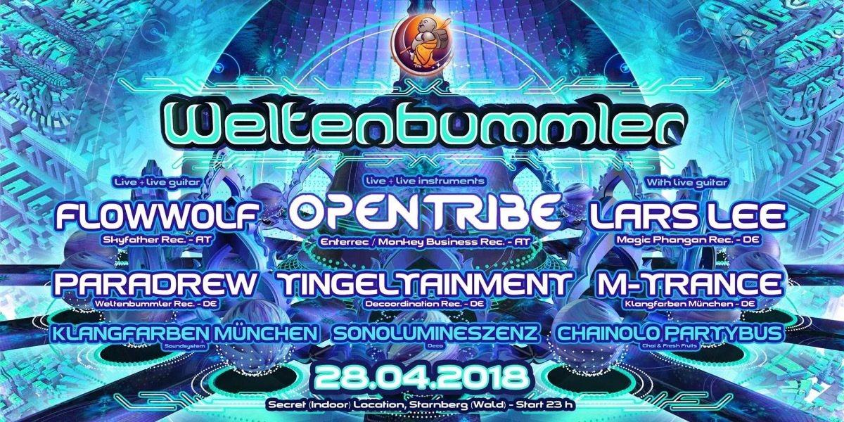 Weltenbummler with INSTRUMENTAL NIGHT 28 Apr '18, 23:00