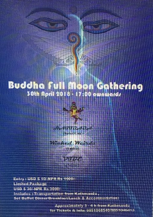 Buddha Fullmoon Gathering 30 Apr '18, 17:00