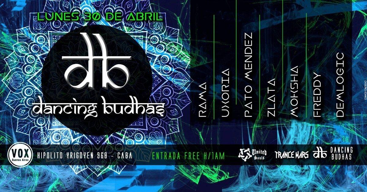 Dancing Budhas 30 Apr '18, 23:30