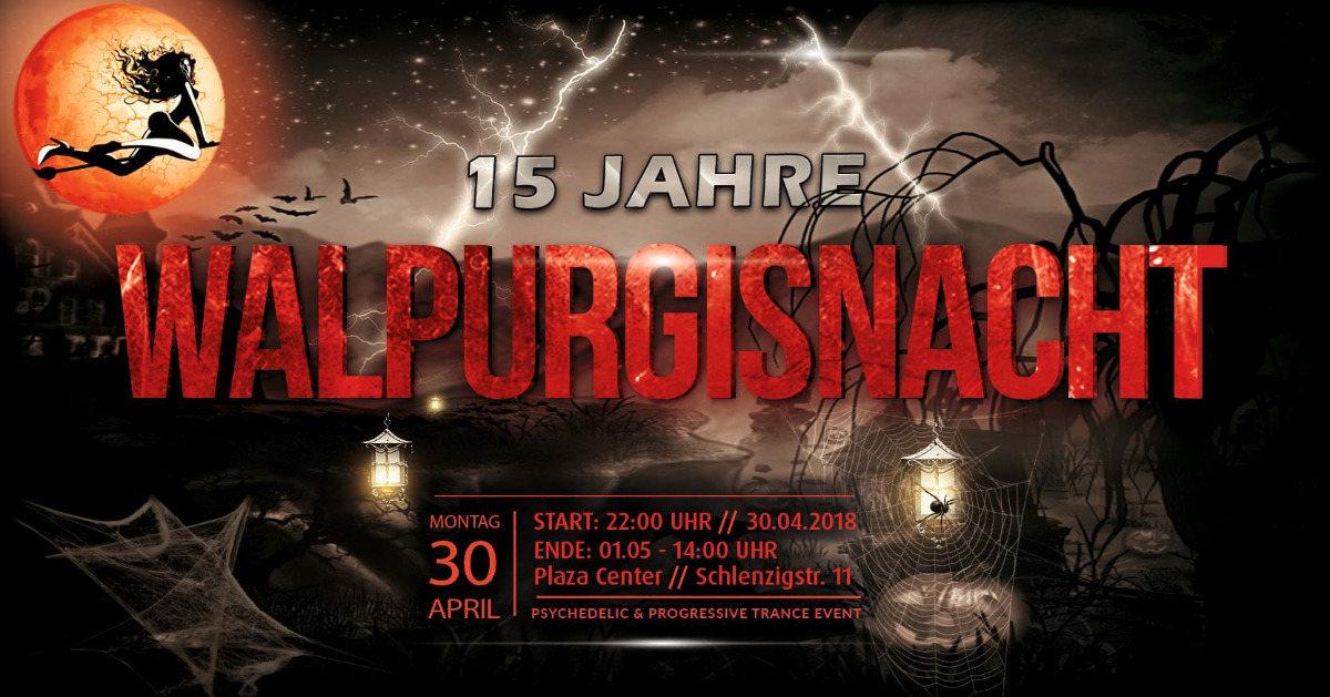 Walpurgisnacht 15.Painkiller, Querox, Metronome, Haldolium, Brox, Kleysky,Anneli 30 Apr '18, 22:00
