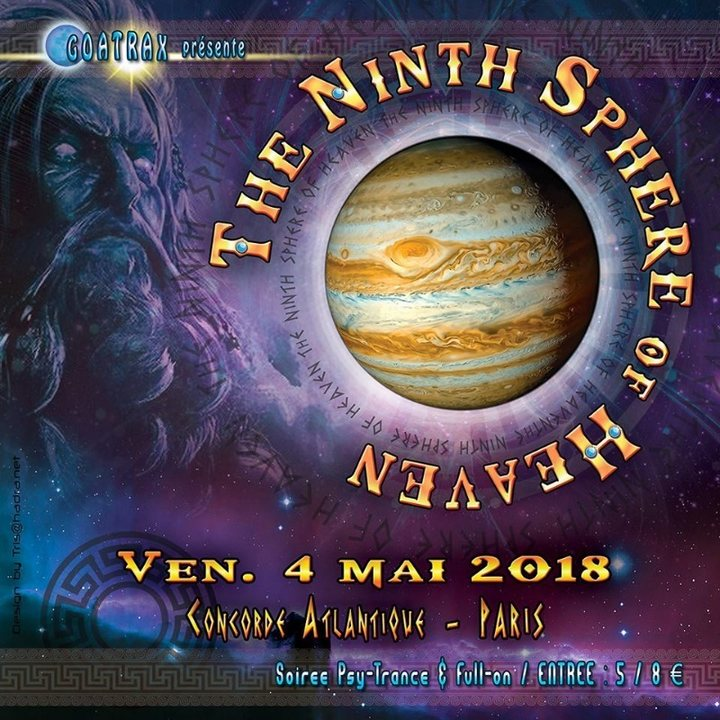 THE NINTH SPHERE OF HEAVEN 4 May '18, 23:30